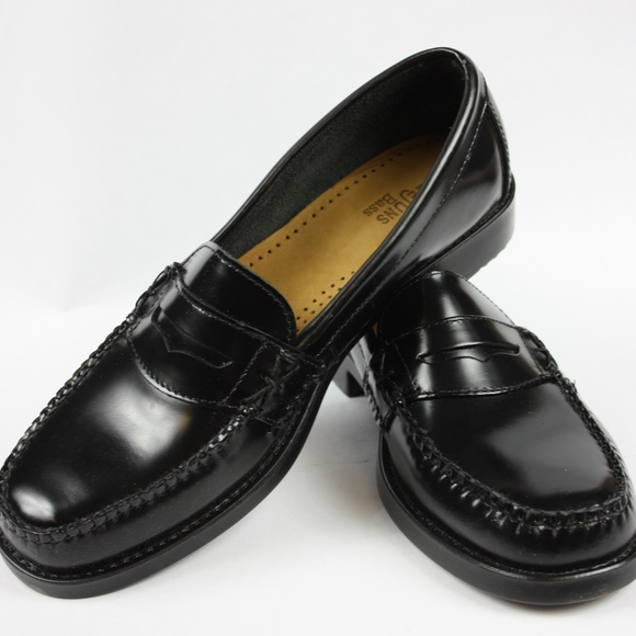 213e214bf08 GH Bass Weejuns Black Katherine II 9M Penny Loafer